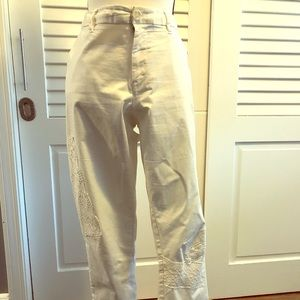Tommy Hilfiger white ankle length pants
